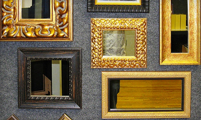 45 Degree Custom Picture Framing - Colorado Springs: Custom Framing at 45 Degree Custom Picture Framing (Up to 67% Off). Two Options Available.