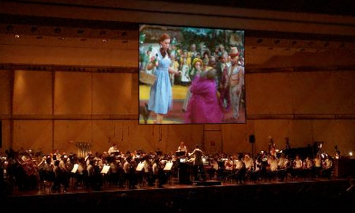"Oz with Orchestra - Bullard: $25 for One Ticket to the Fresno Philharmonic's ""Oz with Orchestra"" at the Saroyan Theatre on October 29 (Up to $77 Value)"