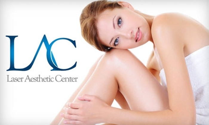 Laser Aesthetic Center - Hinsdale: $130 for Six Laser Hair-Removal Treatments at Laser Aesthetic Center in Hinsdale (Up to $900 Value)