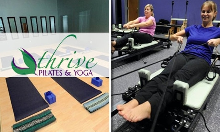 Thrive Pilates & Yoga - Fairlington - Shirlington: $35 for Five Drop-In Yoga Classes at Thrive Pilates and Yoga
