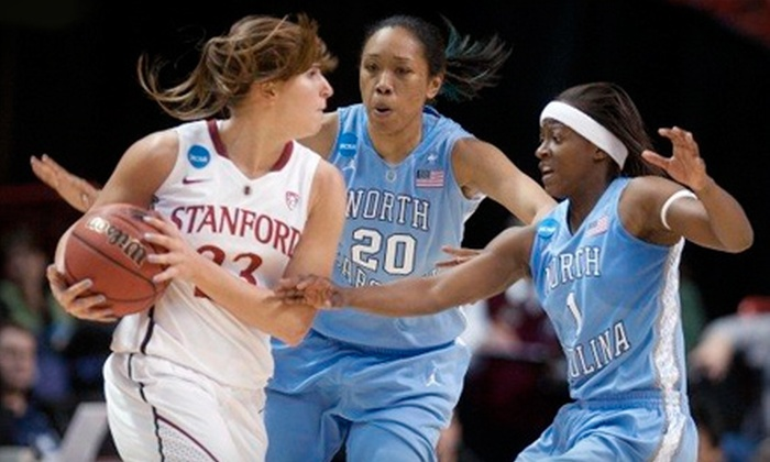 The University of North Carolina Women's Basketball - Multiple Locations: $18 for The University of North Carolina Women's Basketball Package for Two ($36 Value). Five Games Available.