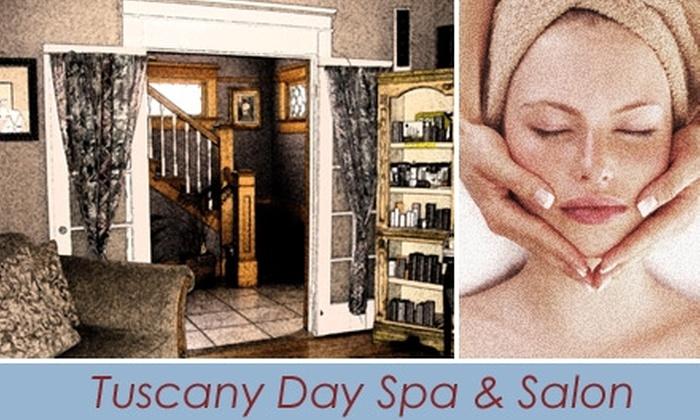 Tuscany Day Spa & Salon - Old Colorado City: $35 for Full-Body, Dead Sea Mud Wrap at Tuscany Day Spa & Salon ($75 Value)