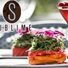 54% Off at Sublime Restaurant