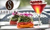 Sublime Restaurant - Peapack and Gladstone: $25 for $55 Worth of Upscale Fare and Drinks at Sublime Restaurant