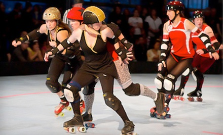 B.ay A.rea D.erby Girls vs. Detroit Derby Girls All Stars at Oakland Convention Center on Sun., Aug. 14 at 11:00AM and 1PM: General Admission Seating - B.ay A.rea D.erby Girls in Oakland
