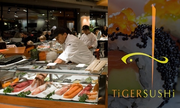 Tiger Sushi 2 - Lyn-Lake: $15 for $30 at Tiger Sushi 2 Plus Edamame Appetizer ($34.95 value)