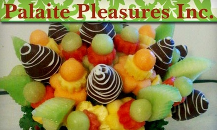 Palaite Pleasures - Crown Heights: $30 for $60 Worth of Holiday Fruit Baskets from Palaite Pleasures