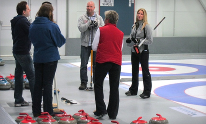Richmond Curling Club - City Centre: Introductory Curling Lesson for Two, Four, or Eight and Cafe or Lounge Voucher at Richmond Curling Club (Up to 60% Off)