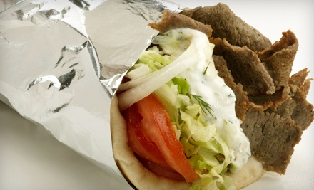 $10 Worth of Greek Fare and Drinks - The Gyro Company in Allentown
