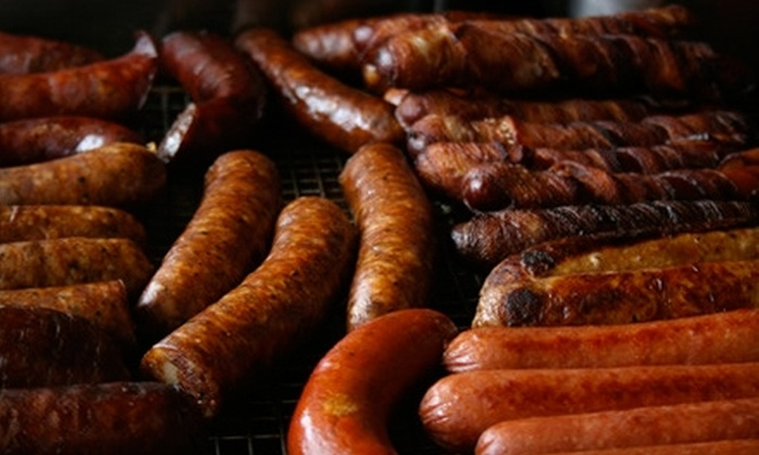 Gepperth's Market - Chicago: $15 for $30 Worth of Specialty Meat and Sausages at Gepperth's Market