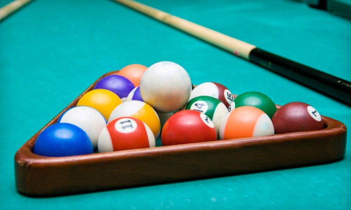 The Big Kahuna - Huntington: $20 for a 90-Minute Billiards Outing with Two Appetizers and Two Drinks at The Big Kahuna in Huntington (Up to $45 Value)