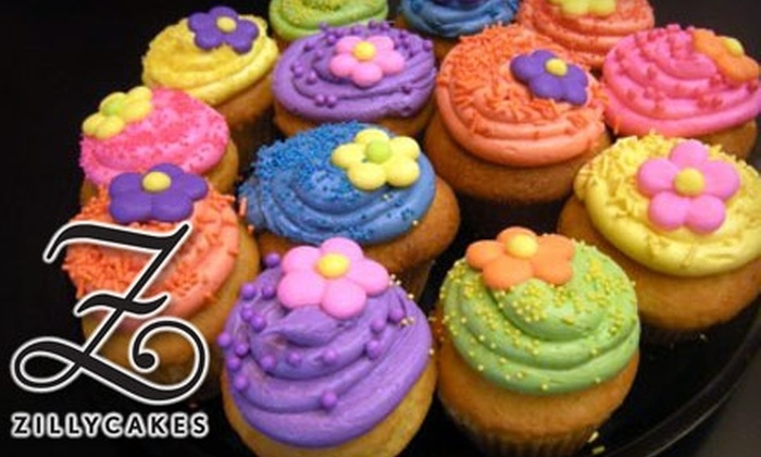 Zillycakes - Forest: $9 for a Half-Dozen Large Cupcakes at Zillycakes ($18 Value)