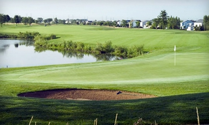 The Links at Carillon - Lockport: $30 for 12-Punch Card for Driving-Range Balls at The Links at Carillon in Plainfield ($60 Value)