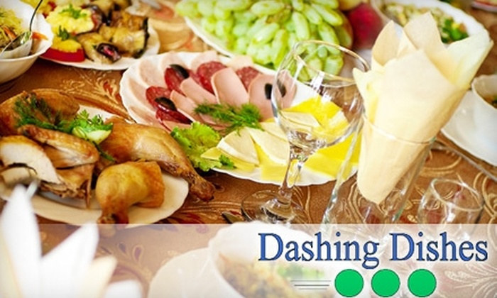 Dashing Dishes - Edmonton: $85 for Eight Entrees at Dashing Dishes ($175 Value)