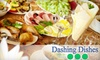 Dashing Dishes - Kennedale Industrial: $85 for Eight Entrees at Dashing Dishes ($175 Value)