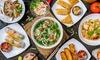 Vietnamees viergangen keuzemenu