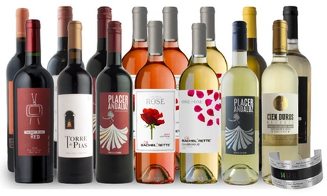 15-Bottle Wines for the Winter Pack, Plus Wine Thermometer from Splash Wines