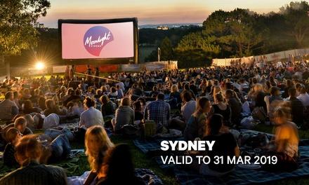 Moonlight Cinemas: GA Tickets for $14 - Centennial Park, Sydney (Up to $20 Value)