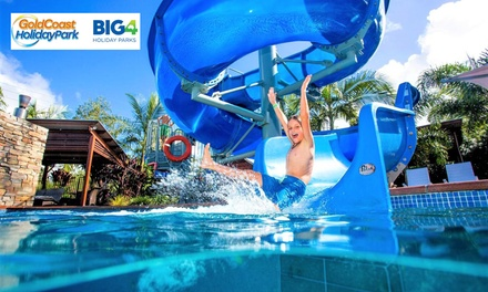 Gold Coast: 2-, 3-, 4-Night Queensland Getaway for Up to 6 with Lunch & Tennis Court Hire at Gold Coast Holiday Park
