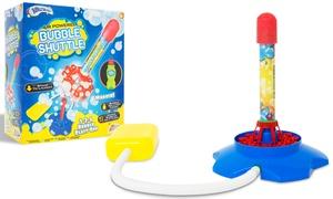 Fusée à bulles de savon