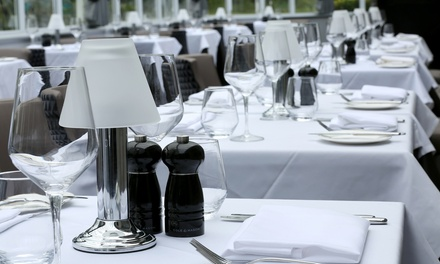 TwoCourse Lunch and Optional Glass of Wine for Two at Marco Pierre White Steakhouse Bar & Grill Yateley