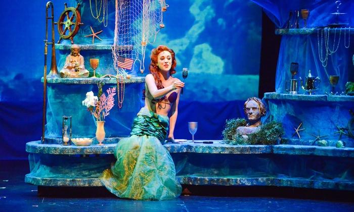 Coeur D Alene Summer Theatre Presents The Little Mermaid In