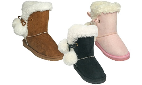 Dawgs Microfiber Side-Tie Boots for Kids and Toddlers be71408d-6bfe-40a3-abfe-2b5705f18c06