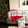 Up to 80% Off Christmas Throw Pillow Cover from Qualtry