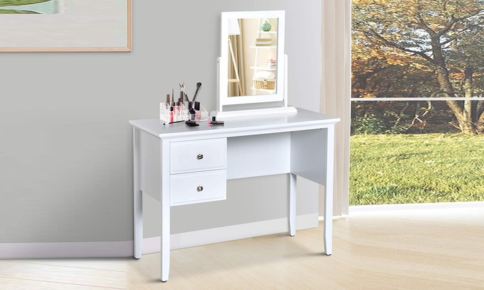 HomCom Two-Drawer Dressing Table from £69.98