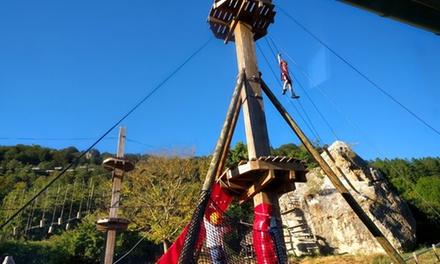 Entrada al parque de aventura para 2 o 4 personas en Urbasa Abentura (hasta 45% de descuento)