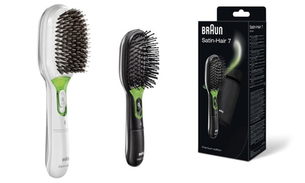 One or Two Braun Satin 7 Hair Brush in Choice of Model