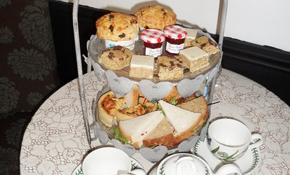 image for Afternoon Tea for Two, Four or Ten at The Tiny Tea Room (Up to 48% Off)