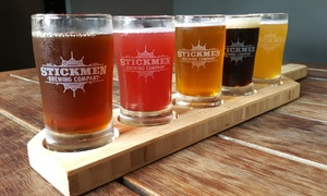 $17 for a Beer Tasting with Growler and Fill at Stickmen Brewing Company ($36 Value)