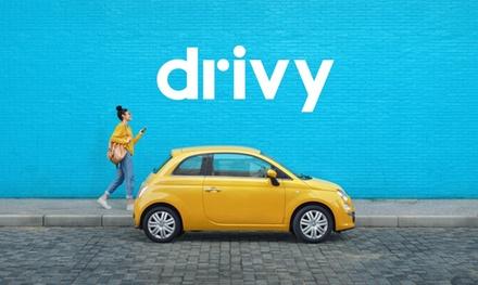 Paga 5 € por un descuento de 25 € para alquilar un coche en Drivy
