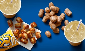 Two Pretzel Nuggets And Lemonades Or A Bucket Of Pretzel Nuggets At Auntie Anne
