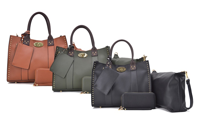 18f5ee9ca67c MK Belted Collection Handbag, Crossbody, Wallet, and Purse Set (4-Pc ...