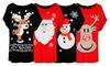 T-Shirt mit Weihnachtsmotiven