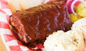 Uncle Bob's BBQ on the Lake:  $12 for $20 Worth of BBQ Brisket and Ribs at Uncle Bob's BBQ on the Lake