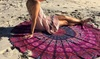 BeeCool: Round Chiffon Aztec-Print Beach Throw from AED 59