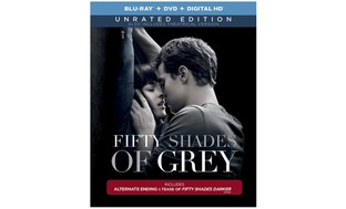 Fifty Shades of Grey Unrated Edition on Blu-ray, DVD, and Digital HD