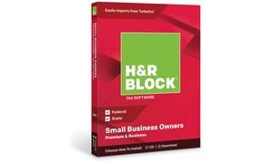 H&R Block Tax Software Premium + Business 2018