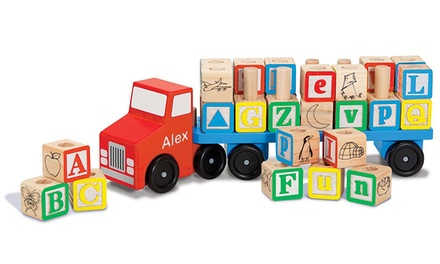 Melissa And Doug Personalized Alphabet Truck from 1-800-Housewares.com (23% Off)