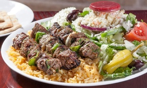 $10 for $22 Worth of Greek Food and Drink at Little Greek Fresh Grill
