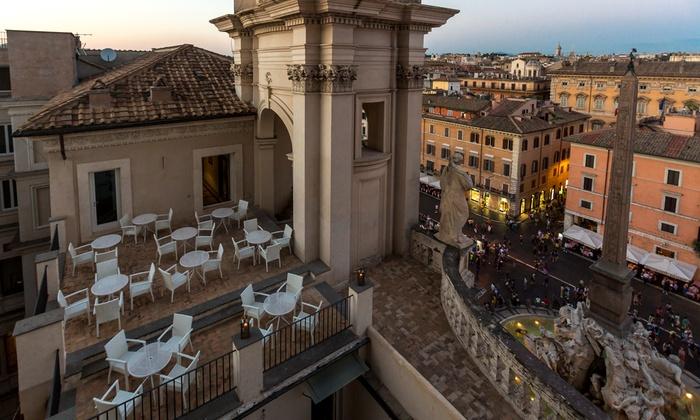 Astice Ostriche E Vino A Palazzo Pamphilj Terrazza