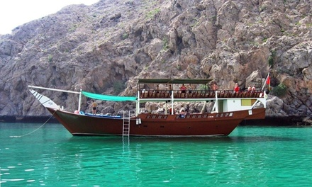 Fujairah: 1 or 2 Nights for Two Adults and Two Children with Breakfast and Dhow Cruise at the 4* V Hotel Fujairah