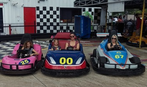 Kissimmee Go-Karts: Go-Kart or Indy-Kart Package with Arcade Tokens and Gator Feeding for Two at Kissimmee Go-Karts (Up to 64% Off)