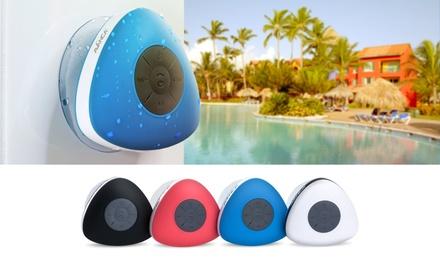 1 o 2 altavoces bluetooth resistentes al agua Avanca disponibles en varios colores desde 12,95€ (hasta 70% de descuento)