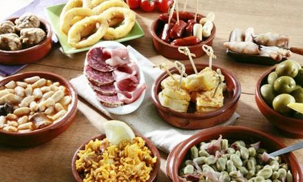 Onbeperkt tapas eten voor 24 personen bij Tapas And Grill España in hartje Amsterdam