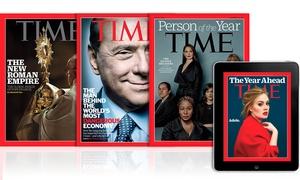 Abbonamento Time Magazine: Abbonamento All Access di 6, 12 o 24 mesi a Time Magazine digitale e cartaceo con consegna a casa(sconto fino a 89%)