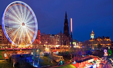 ✈ Edinburgh Christmas Market: 1 to 3 Nights with Return Flights at Tune Hotel Haymarket*